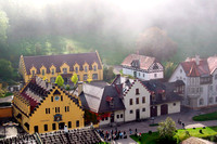 Overlooking Village at Castle Schloss Hohenschwangau, Germany