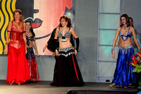 Belly Dancers at Women's Show - Charlotte Merchandise Mart