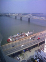 Hotel view from Galt Hotel in Downtown Louisville, KY
