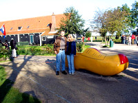 2004 10-09 01 touring wooden shoe factory in Holland.jpg