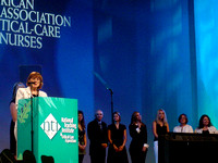 Award at American Association for Critical Care Nurses