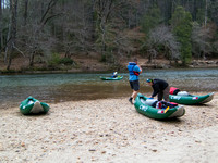 2014 04-04 Clemson Hydrogeology Kayaking Trip05