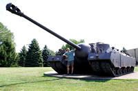 Patton Museum of Armor at Fort Knox - T26 Super Heavy Tank
