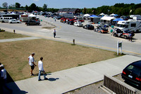 Deck overlooking Paddock Area (Infield Parking Area)